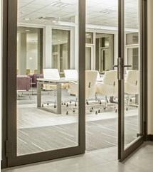 ASC 50 - Interiérový okenně-dveřní systém