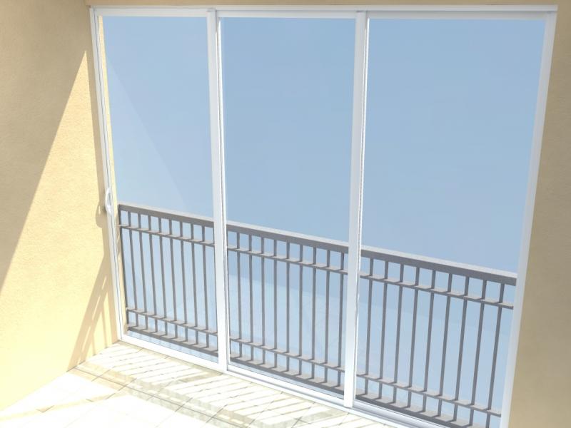 AluCombi - Rámové zasklení teras a balkonů