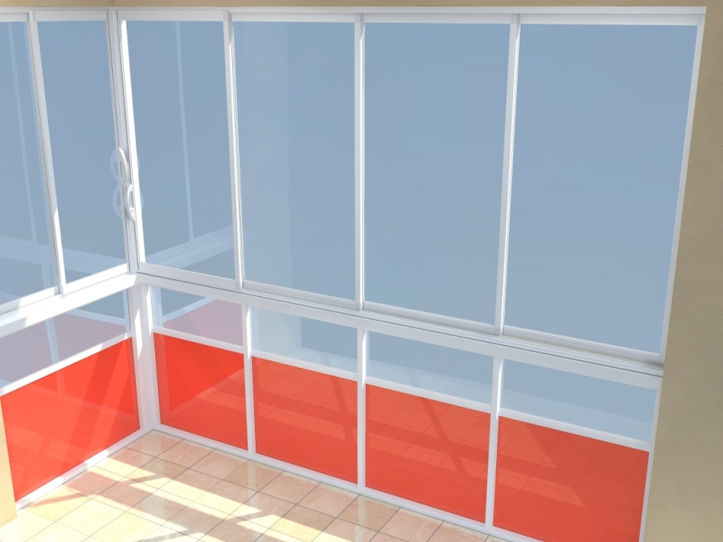 AluPlus - Rámové zasklení teras a balkonů