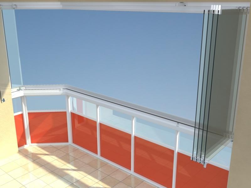 AluVista - Bezrámové zasklení teras a balkonů