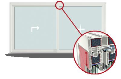 HST portál – Zdvižně posuvné dveře